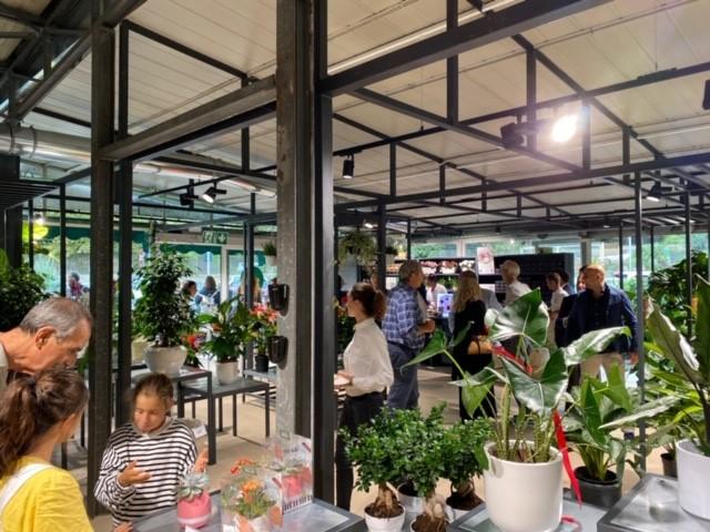 Horticultural interno negozio