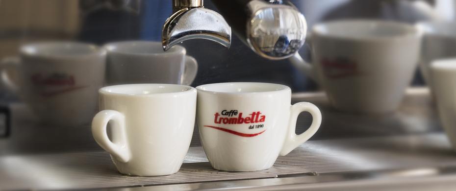 Tazzine caffè trombetta
